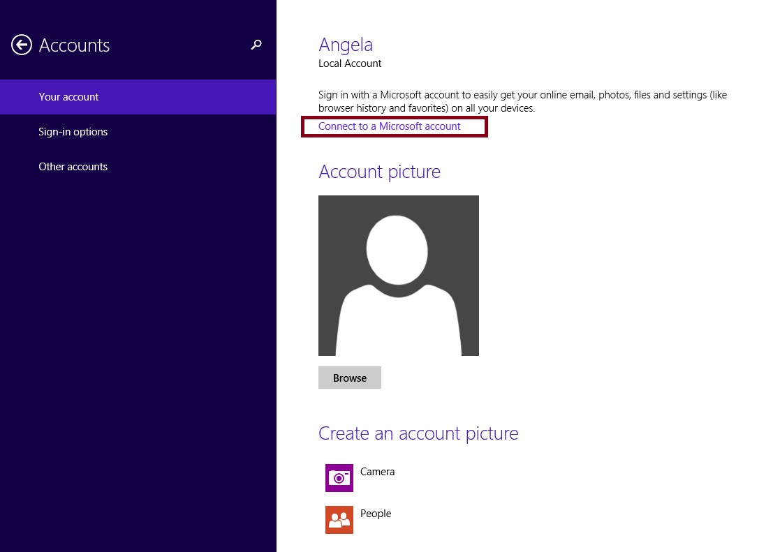 sync apps windows 8 tip