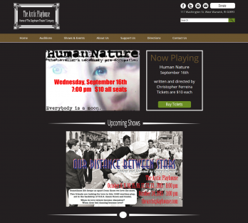 the arctic playhouse website