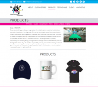 design of product page